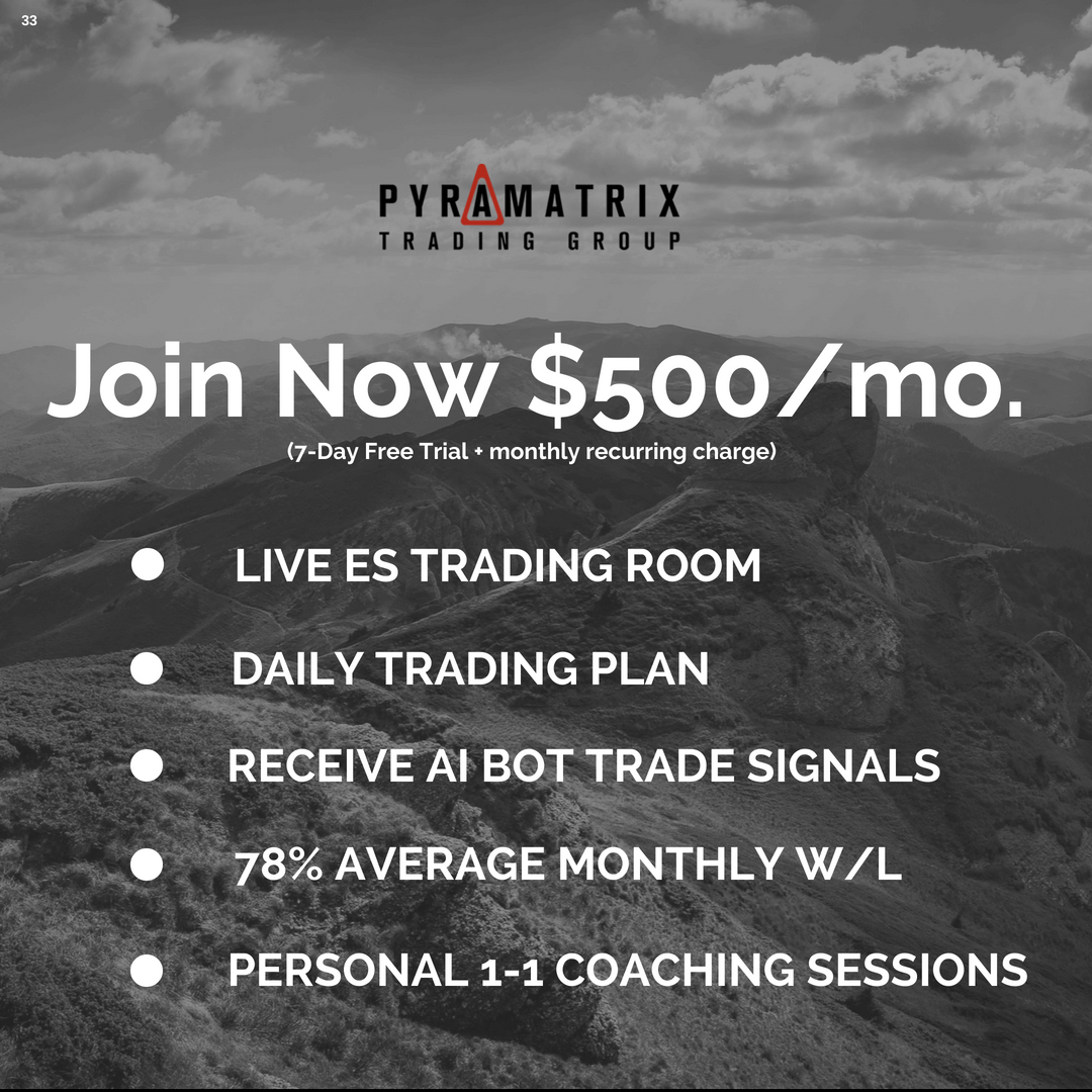 Live Trading Room Pyramatrix Trading Group